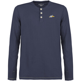 E9 Ugo Light Fleece Herren blue navy